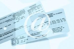 как поменять электронный билет на самолет